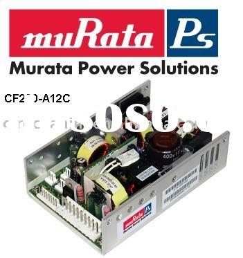 CF200-A12C,high density, 200 Watt, open frame, 12V AC/DC power supply,MURATA POWER SOLUTION DISTRIBU