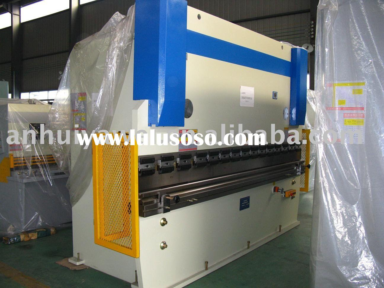 CNC control hydraulic press brake, cnc bending machine, cnc press brake WC67Y-63T3200 with DA65W DEL