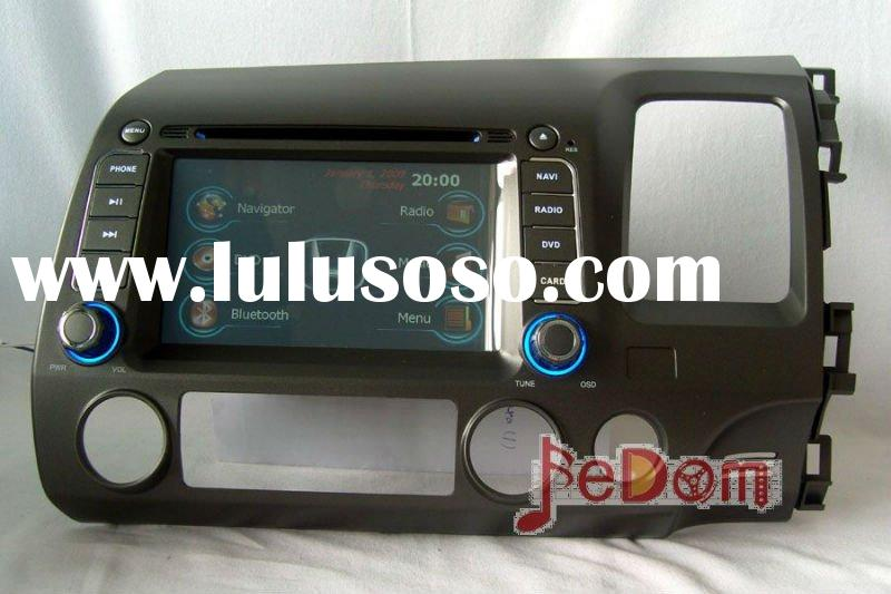 Car DVD Player with GPS Navigation for 2006-2011 Honda Civic+right drive+Radio+Audio+iPod+Bluetooth+