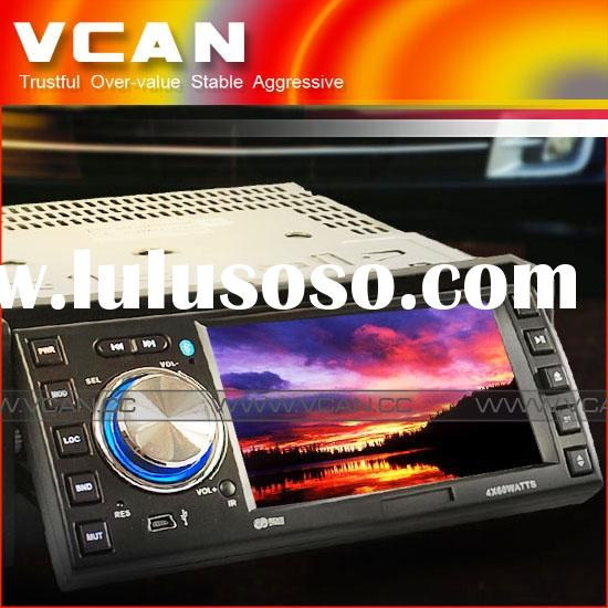 "Car GPS, GPS-5004 Play DVD/TV/FM during navigation(auto switch) with 4.3"" touch screen and blue"