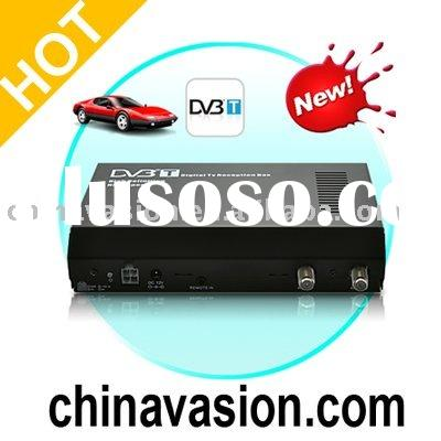 Car Mobile DVB-T Digital TV Receiver with TV Antenna (MPEG-2/4)