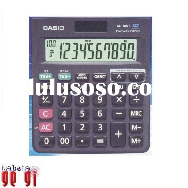 Casio MJ-100T Desktop Calculator
