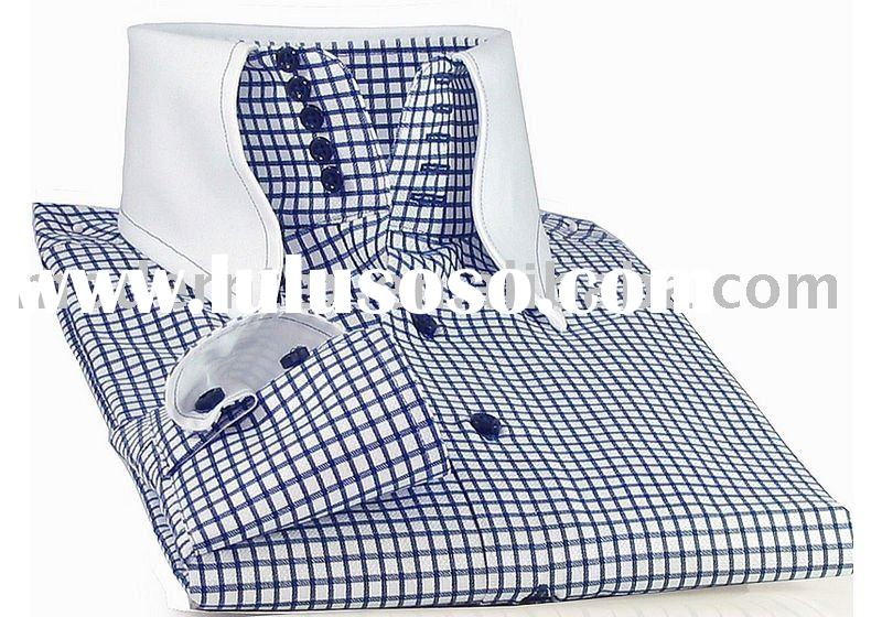 Casual Style 100% Cotton Mens Shirt