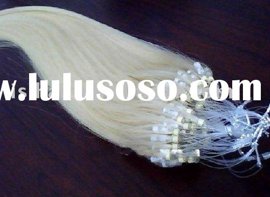 Cheap 100% human hair Micro loop ring hair extension