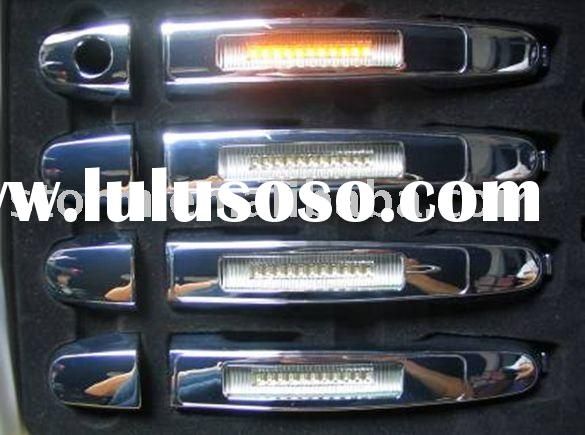 Chrome Door Handle Cover Plates W/LED Toyota Yaris