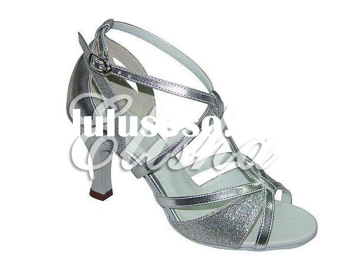 Classic women latin ballroom salsa dance shoes