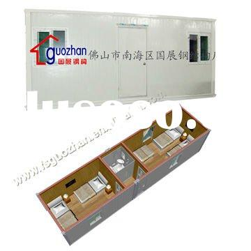 Comfortable 20ft container house for accommodation