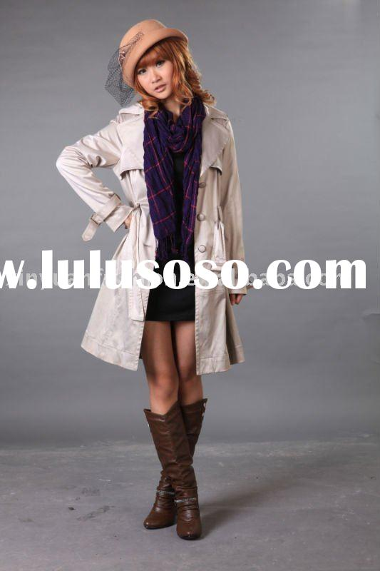 Cool woven designer winter coats