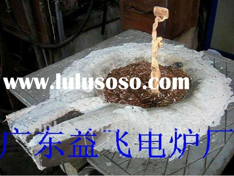 Copper Scrap IF Induction Melting Furnace