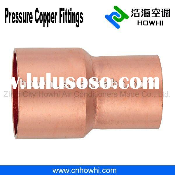 Copper pipe fitting, Coupling - Reducer C X C, for refrigeration and air conditioning