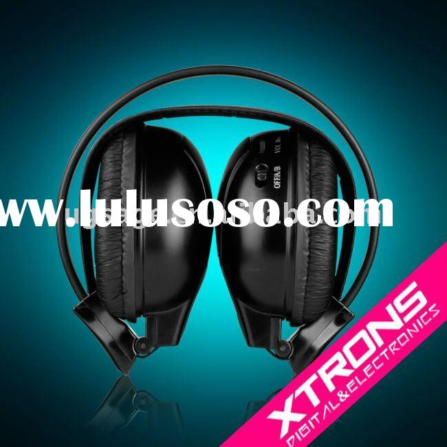 Cordless headphone DWH002: Dual Channels IR wireless headphone