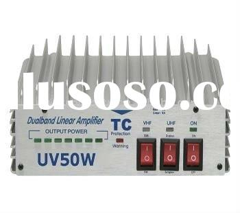 DUAL BAND LINERAR AMPLIFIER ,VHF/UHF INTERPHONE AMPLIFIER TC-VU50 DUAL BAND LINEAR AMPLIFIER
