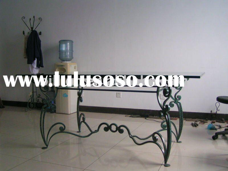 Decorative Table legs wrought iron iron garden chairs