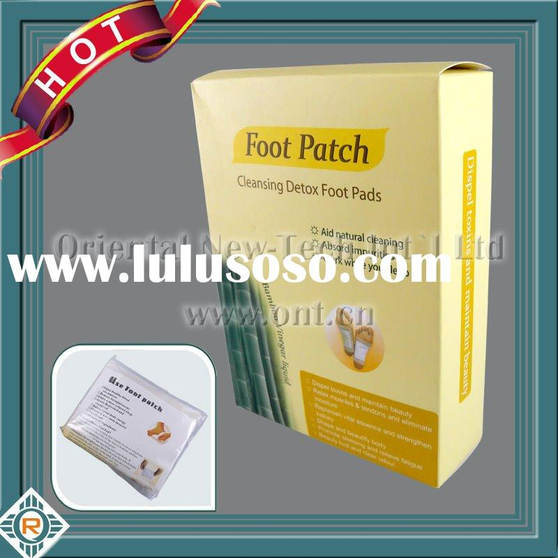Detox Foot Patch Detoxify Pads Remove + Adhesive x10