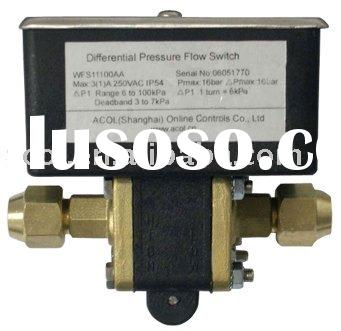 Differential Pressure Flow Switch with Adjustable Set point