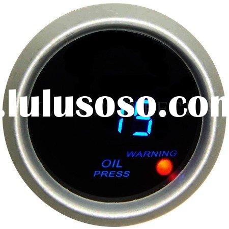 Digital Oil Pressure Gauge (auto meter, auto part)