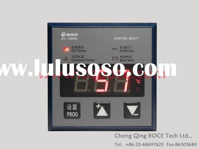 Digital Oil Pressure/Water Temperature/ Voltage Gauge/Meter