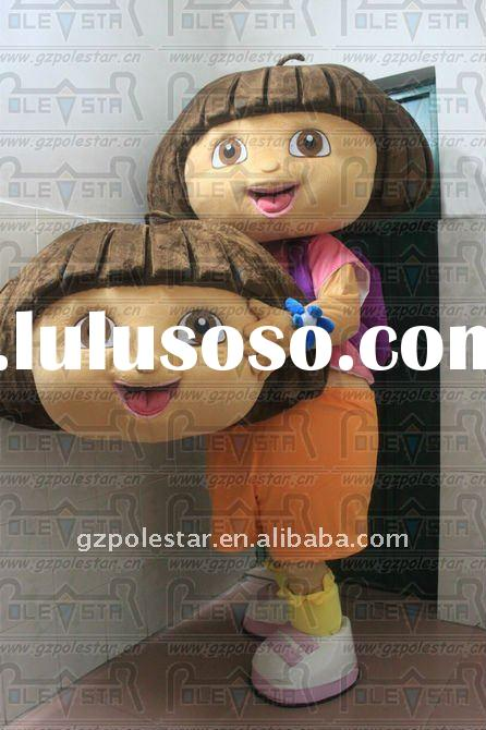 Dora The Explorer Mascot Costume /Dora Costume