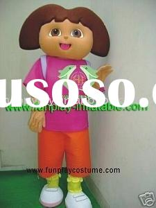 Dora costume/character mascot/cartoon costume
