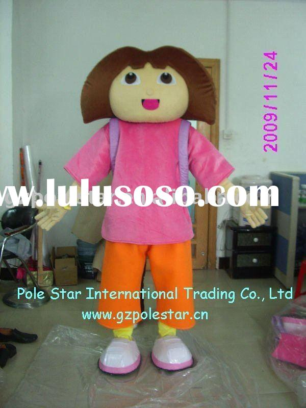 Dora the explorer Costume/Dora Mascot Costume
