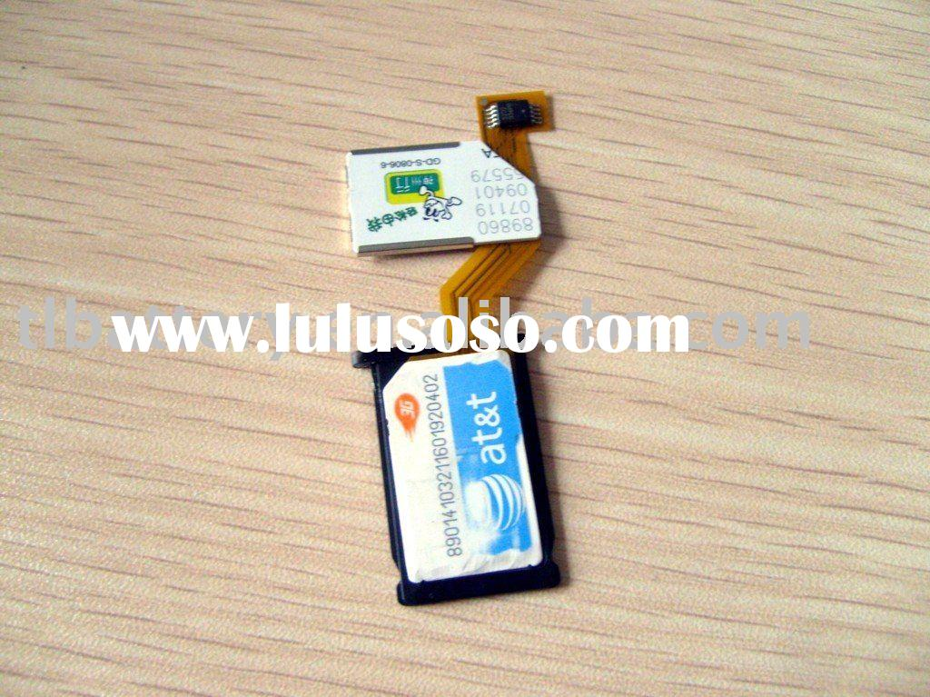Dual SIM Card Adapter for iPhone 3G 3GS NEW