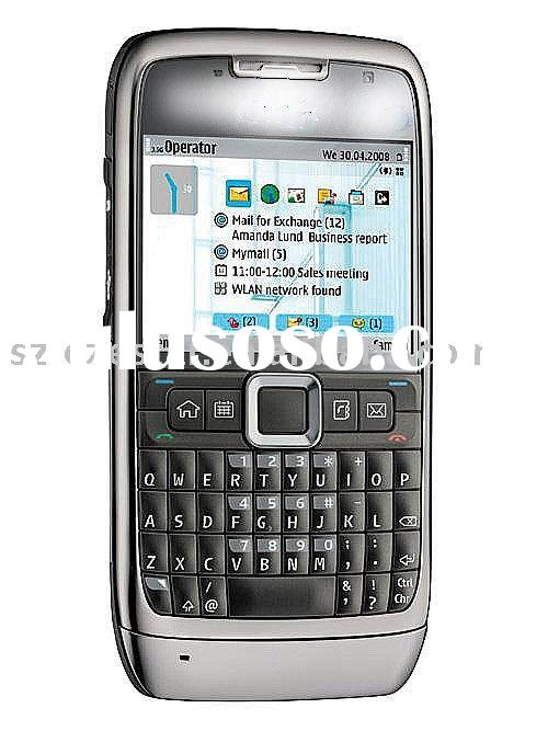 E71 dual mode mobile phone, CDMA+GSM quadband mobile phone