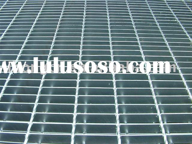 Electric Galvanized steel grating , A36 grating , Q235 steel grating