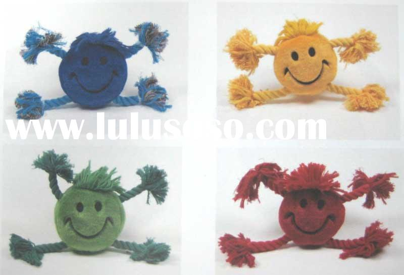 Embroider happy face w/Rope