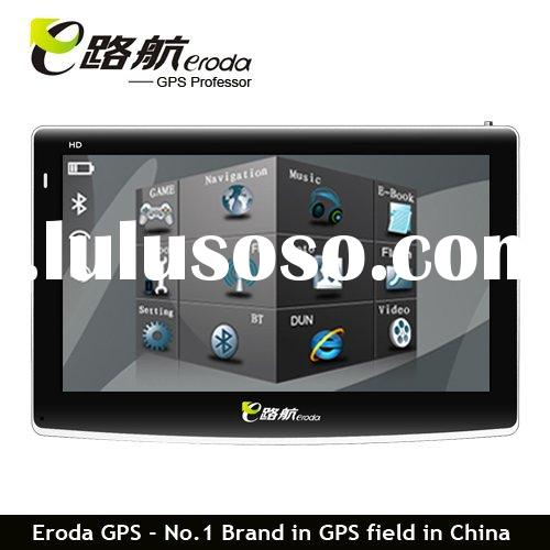 "Eroda 6"" portable GPS car navigation system"