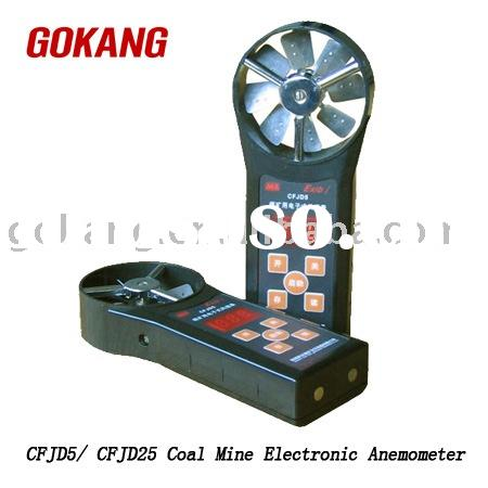 Explosion Proof Coal Mine Electronic Anemometer, air flow meter, detector, handheld, portable, cordl