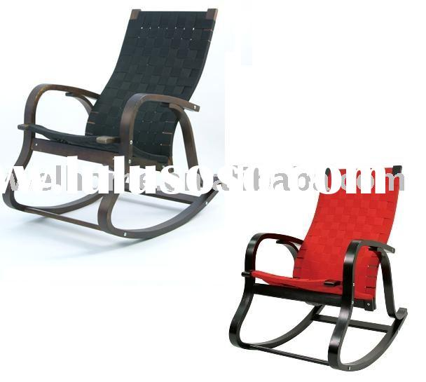 F2030 Bentwood Rocking Chair, Bend plywood rocker,glider chair,recliner