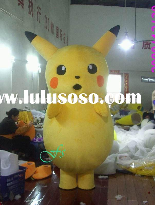FS-COS0501 Pikachu cartoon character mascot costume