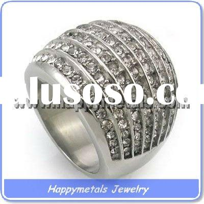 Fashion men jewelry casting stainless steel rings(R8865)