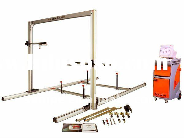 FinlandAutorobot Calipre - Electronic measuring system auto body pulling straightener