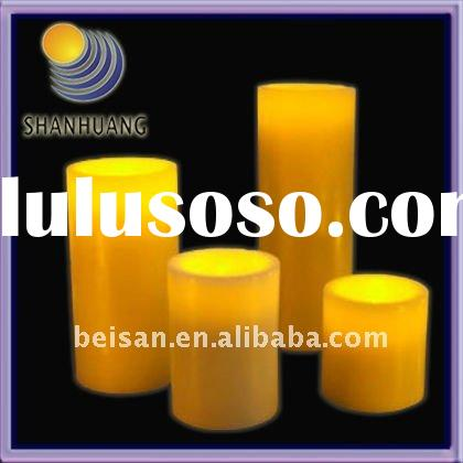 Flameless Wax LED Candle Night Light