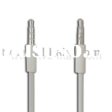 For Apple iPhone 4 3.5mm Male to Male Stereo Aux Cable,Length:77cm