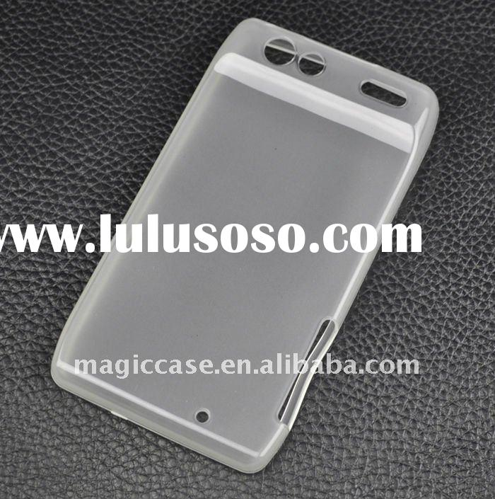 For Moto RAZR case:For Motorola X910 RAZR Frosted TPU case:For Motorola X910 RAZR TPU/Gel case