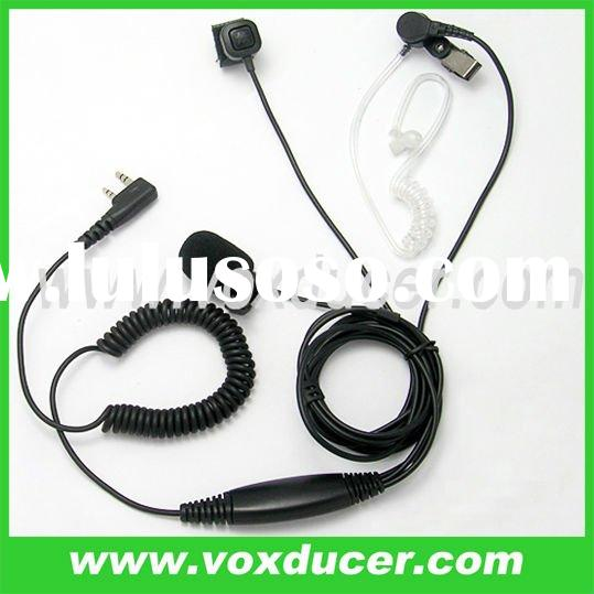 For WOUXUN walkie talkie KG-UVD1 KG-UVD1P acoustic tube earphone