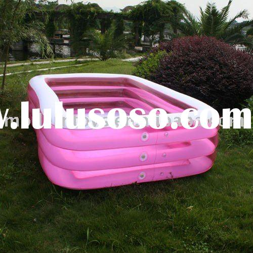 Free shipping Inflatable Adult Swimming Pool Rectangular+Existing models & Fast sampling