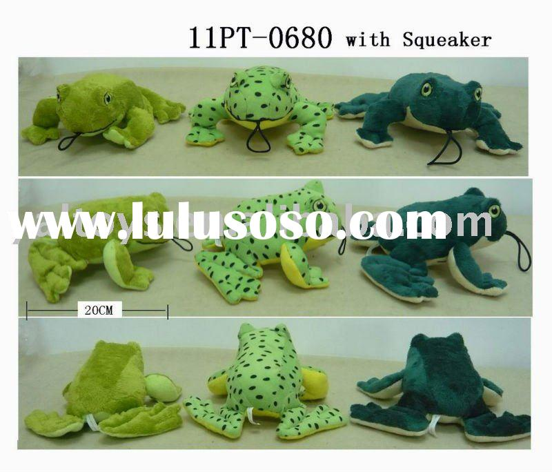 Funny 3 Colour Frog Pet Toy for Dog! CHEAP PRICE!
