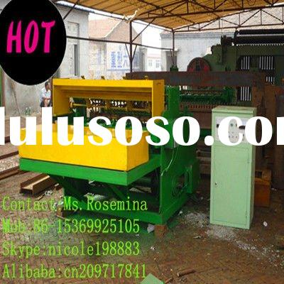 Galvanized Automatic Welded Wire Mesh Fence Machine(in Roll)