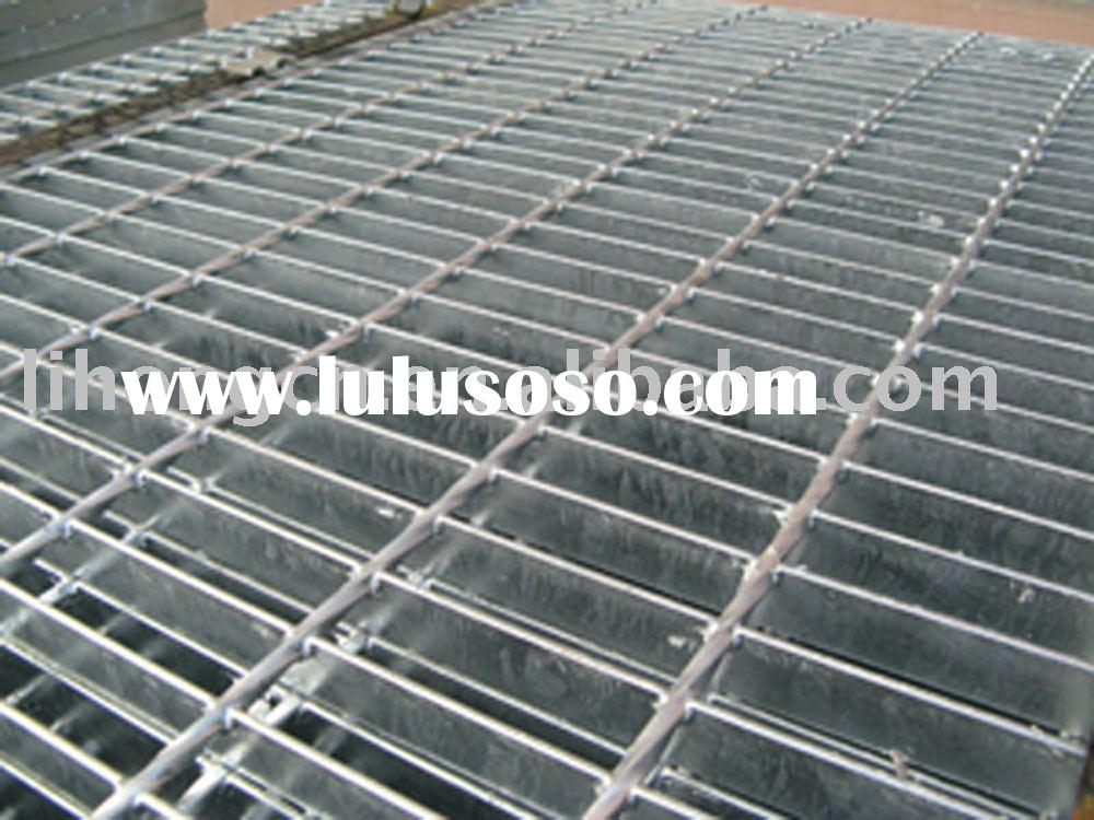 Galvanized steel grating, Galv bar grating, Galvanized floor grating