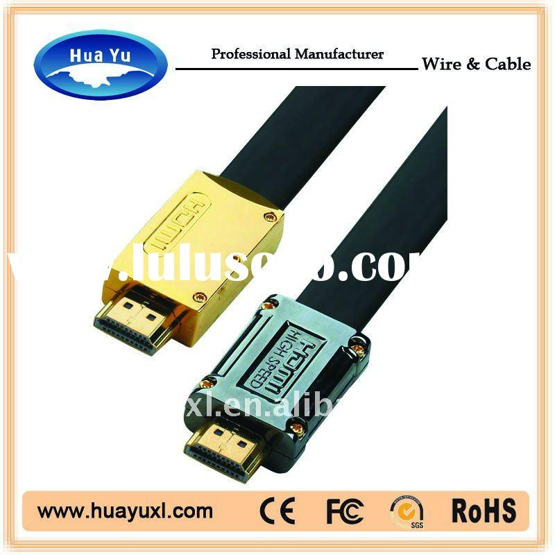 Gold plated HDMI Cable 1.4 HDTV,PS3, computer cable