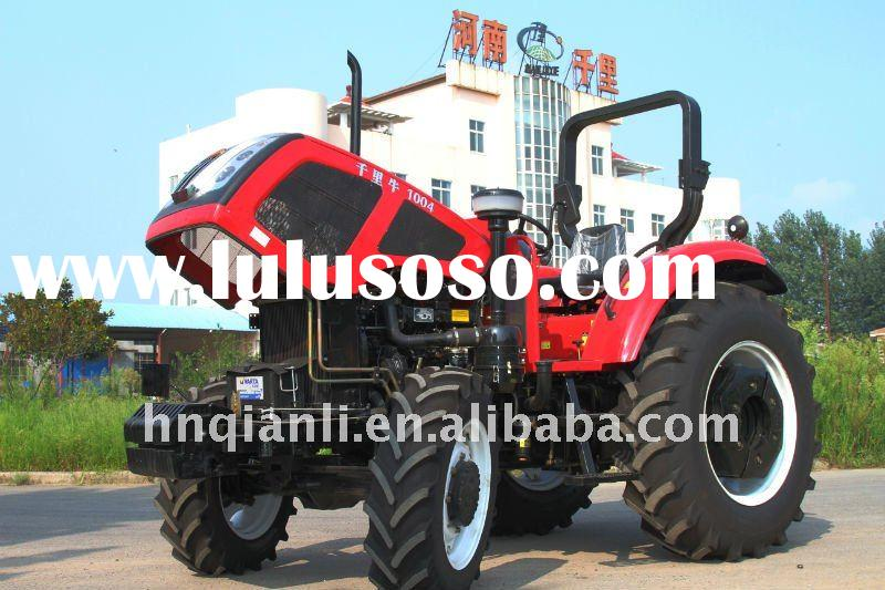 HOT! New Land Tractor QLN1004 100HP 4WD Wheeled Tractors Agricultural Equipments Farm machines 4whee