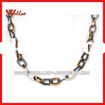 Heavy-Duty Stainless Steel Curb Chain Necklace