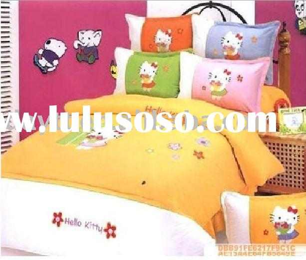 Hello Kitty Bedding Set for kids D059 on sale wholesale & drop shipping