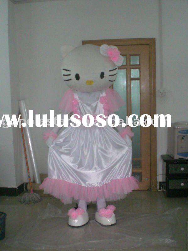 Hello Kitty Costume / Hello Kitty Mascot / KT Mascot Costume