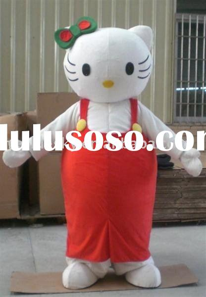 Hello kitty mascot costume