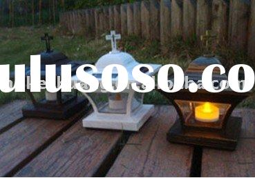 High Quality Garden Decoration LED Solar Candle Lamp