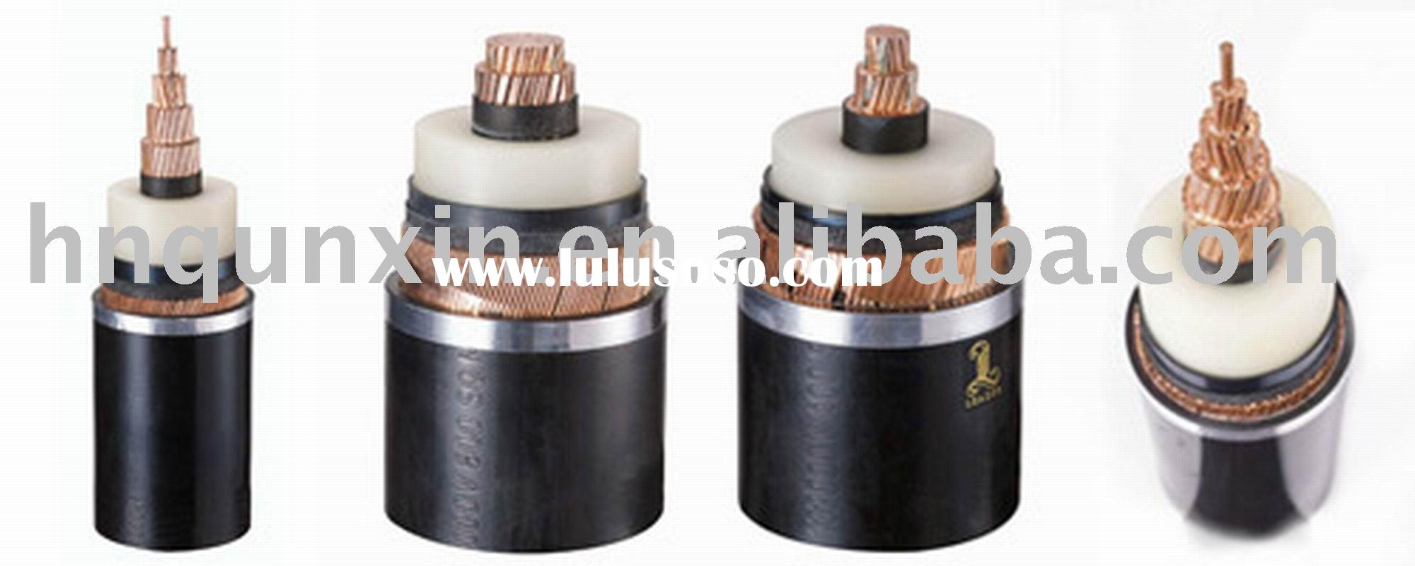 66kv Xlpe Cable Specification China 127 220kv Xlpe Ultra